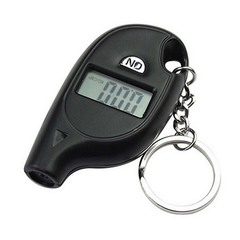 Tire pressure Digital LCD 2-150 PSI Tire Tyre Wheel Air Pressure Gauge Tester Procession Tool black one size