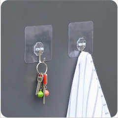 No trace Strong Sticky hook kitchen bathroom Multifunction Load bearing hook up 5 sets one size