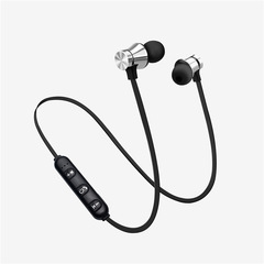 XT11 Sports Running Bluetooth Wireless Earphone Active Noise Cancelling Bluetooth Headset silver