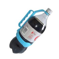 Creative tool Bottle Handle Big bottle Sprite Cola Grip Cola Handle blue one size