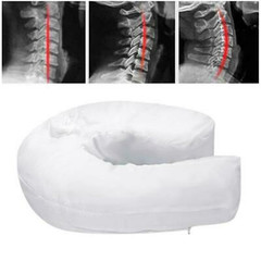 Health Care Pillow Side Sleeper Pillows Neck & Back Pillow Hold Neck Spine Protection white one size