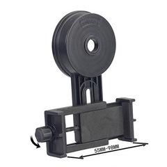 Universal Holder Adapter Clip Mount Bracket For Width 5.5-9cm Mobile Smart Phone black