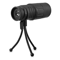 outdoor telescope Single cylinder telescope Black dolphin 10x40 High magnification HD telescope black one size