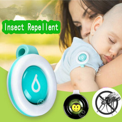 Baby Mosquito Repellent Button Buckle Outdoor Anti-mosquito Repellent Cushion random color one size