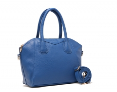 Elegant ladies PU leather shell Handbag Shoulder bag Treasure blue Treasure blue one size