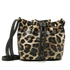 Classic fashion leopard pattern Bucket bag Crossbody bag leopard one size