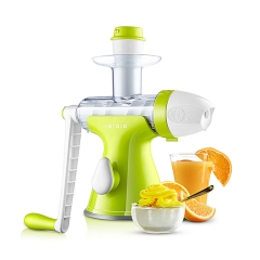 Manual Juicer Masticating Slow Fruit Vegetable Wheatgrass Juicer Ice Cream Dessert Maker