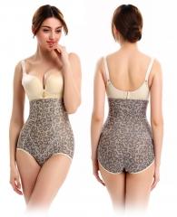 Body Shaper Waist Cincher Shapewear Tummy Control Panties Butt Lifter Seamless Hi Waist Brief print xl