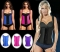 Women's Latex Sport Girdle Waist Training Corset Waist Body Shaper black xxxl