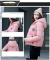 2017 jackets women autumn winter Fashion Casual Basic jacket Cotton coat Short outwear pink xl