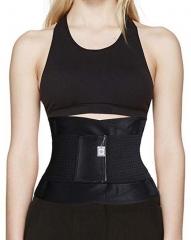 Women's Waist Trainer Body Shaper Workout Waist Cincher Belt Sport Trimmer Girdle Shaperwear black m
