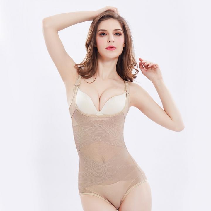 627e9e0888 Women Sexy Siamese Corset Postpartum Thin Waist Slimming Bodysuit Shapewear  Underwear Body Shapers nude XXL(