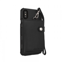Luxury Vintage Leather Case For Samsung Galaxy Note 8 S8 S8 Plus S9 S9 Plus iPhone 10 8 7 6 6S Plus black iPhone8/iPhone7