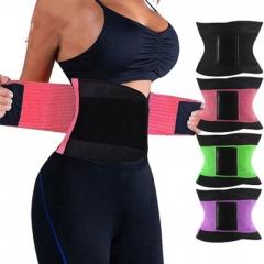 Women's Waist Trainer Body Shaper Workout Waist Cincher Belt Sport Trimmer Girdle Shaperwear black s