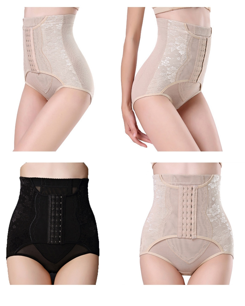 522fb0948ef20 Invisable Strapless Body Shaper High Waist Tummy Control Butt Lifter ...