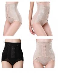 Invisable Strapless Body Shaper High Waist Tummy Control Butt Lifter Panty Slim black M(40-50kg)