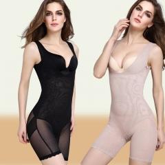 Women Slimming Underwear Corset Body Shaper Corrective  Shapewear Slim Underbust Waist Corsets black m