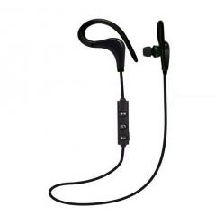 Sport Workout Earbuds Headphones Built-In Microphone In-Ear Stereo Lightweight Wired Earphones black