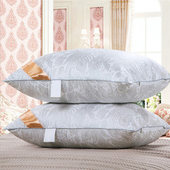 Elastic pillow insert top quality pillow inner sleeping pillow cushion throw pillow 1 pcs Silver gray 48*74cm