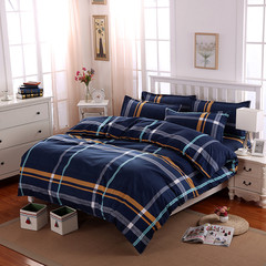 4Pcs Bedding Sets (1 Duvet cover+1 Bed sheet+2 Pillow covers)100% Polyester Cotton As picture 5  x 6