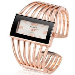 Women's Bracelet Watch 2019 Unique Ladies Watches Full Steel Wristwatches Women Watches Clock Rose gold 1 one size