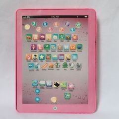Kids' Tablet Children Computer Learning Education Machine Tablet Toy For Kids Educational toys pink style 2 normal