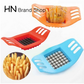 HN Brand-Potato Slicer Cutter Chopper Chips Making Potato Cutting Fries Tool Kitchen Accessories mix color as picture