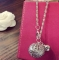 HN-1Pcs/Set New Fashion COS Gong bells Metal Bracelets Bangles Women Jewellery Gift silver as picture