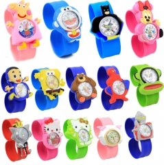 HN-1Pcs/Set New Give a gift to children cartoon animals animation Pointer Girl Watches Toy wholesale random