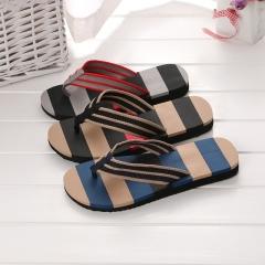 HN Brand fashion Men's beach slippers summer Trendy flip-flops black 40