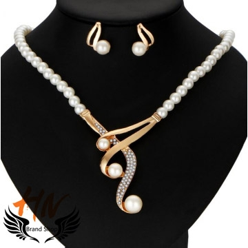 HN-3 piece/Set New Fashion Personalized pearl necklace high-grade jewelry white as picture