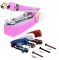 HN Brand 1Pcs/Set New Hand-Held Clothes Fabrics Sewing Machine Travel Use Mini Convenience Cordless Color random One Size