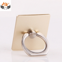 HN Brand-360 Degree Finger Ring Grip Mobile Phone Tablets Holder Stand Holder Back Cover white Multicolor random 40*35*7mm