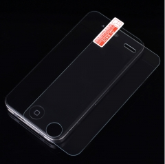 HN Brand 1pcs IPhone 4S steel film 0.26mm arc edge hd film transparent 3.5 inches