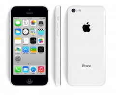 iPhone 5C-4'',16GB,Authentic Guaranteed,Unlocked Smart Mobile (90% into new) White