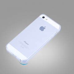 HN Brand 1pcs Transparent silicone case for iPhone 5 、5S、SE transparent suitable for iphone5、 5s、SE
