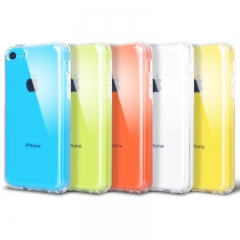 HN Brand 1pcs Clear silicone case for iPhone5C transparent suitable for iphone5C