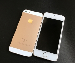 Used iPhone se-4'',64GB,Inserting card,Smart Mobile (90% into New) gold
