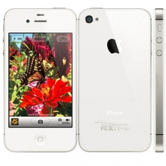 iPhone 4S-3.5'',16GB,Authentic Guaranteed,Unlocked Smart Mobile 90% into New White