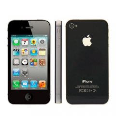 iPhone 4S-3.5'',16GB,Authentic Guaranteed,Unlocked Smart Mobile 90% into New Black