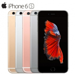 iPhone 6S-4.7'',16GB,4G LTE IOS Cellphone,Inserting card,Unlocked Smart Mobile (90% into New) Gold