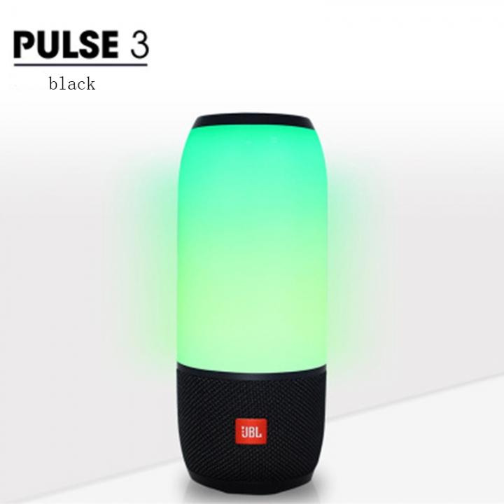 JBL Pulse 3 Wireless Bluetooth IPX7 Waterproof Speaker(Refurbished 99% into new) black