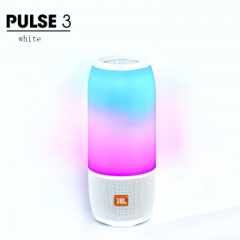 JBL Pulse 3 Wireless Bluetooth IPX7 Waterproof Speaker(Refurbished 99% into new) white