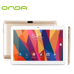 Onda V10 4G Phablet 10.1 inch IPS Screen Android MTK6753 1.3GHz Quad Core 32GB  Dual Cameras Tablet white