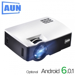 AUN Projector AKEY1/Plus for Home Theater, 1800 Lumens, HDMI Support Full HD 1080P