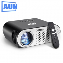 AUN Projector 3200 Lumen T90,  (Optional Android Projector with 2.4G Air Mouse) LED TV