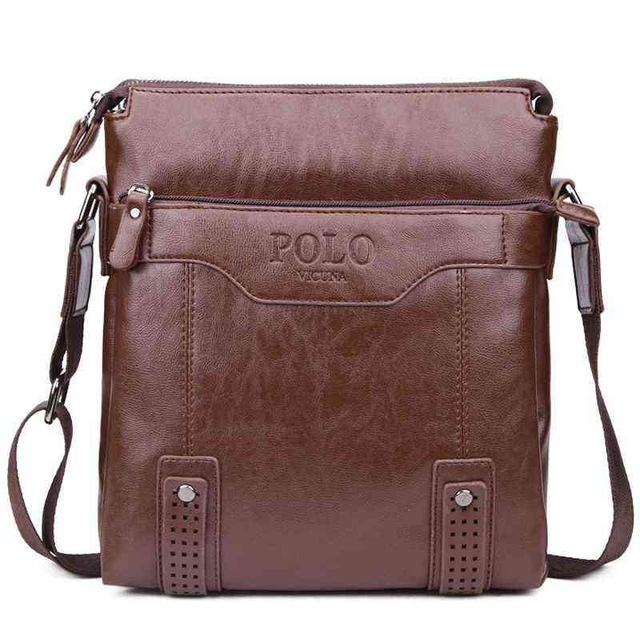 VICUNA POLO Vintage Unique Leather Man Brand Men Leather Messenger Bag  Fashion Shoulder Bags khaki large  Product No  1285476. Item specifics   Brand  c2b8fc556ae0a