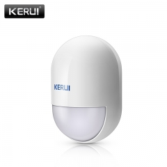 KERUI P829 Wireless PIR Motion Detector for KERUI Home Alarm System Smart Home Motion whie 58*58*89mm