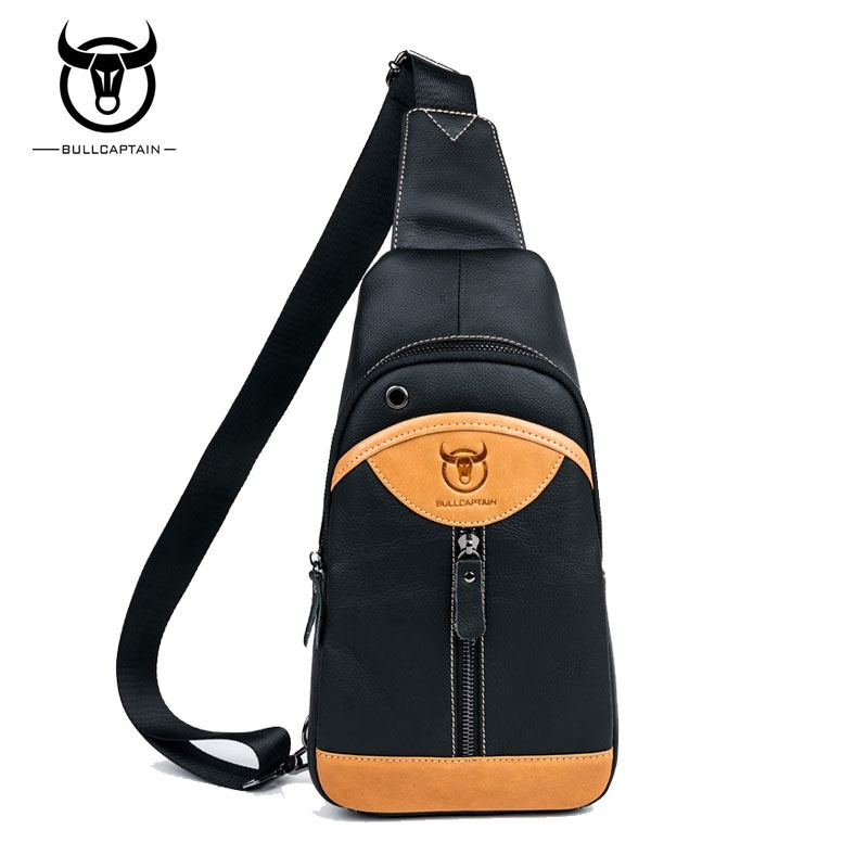 7cf05aeafe8e BULLCAPTAIN Small sling chest bag Brand men causal messenger bag Male  Shoulder Bags Fashion brown one size  Product No  2686717. Item specifics   Brand