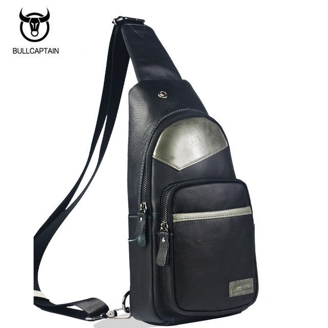 c0e80d390d7b ... Fashion Genuine Leather Crossbody Bags men casual messenger bag grey  and black small  Product No  2762105. Item specifics  Brand